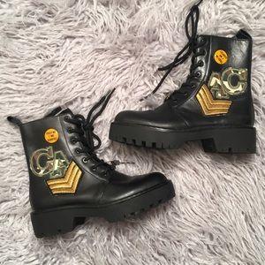 Zara Military Boots 36
